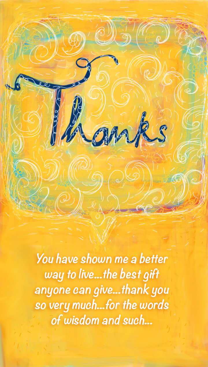 Thanks « Let there be Art…