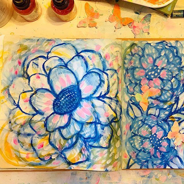 Floral doodles...