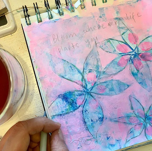 Tea time doodling...
