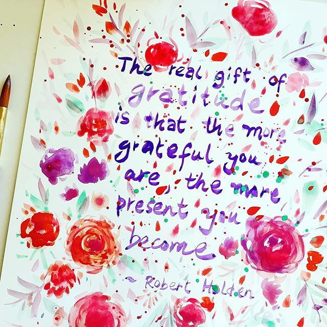 The real gift of gratitude...