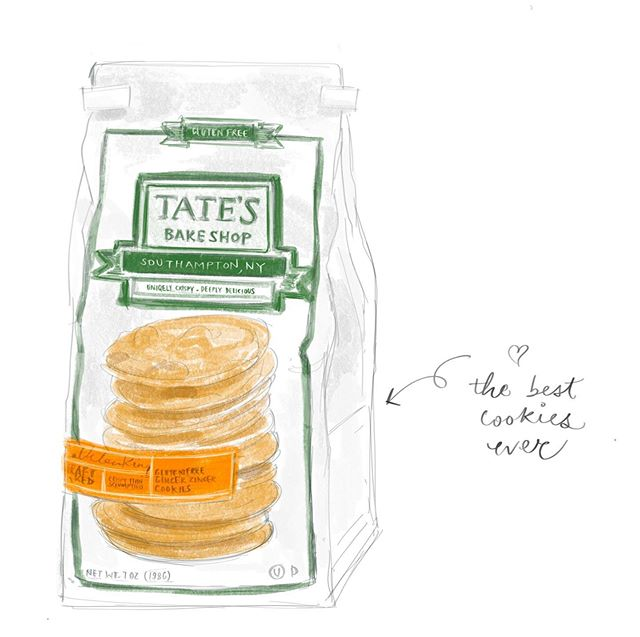 Tried these for the first time, @tatesbakeshop the best cookies ever!