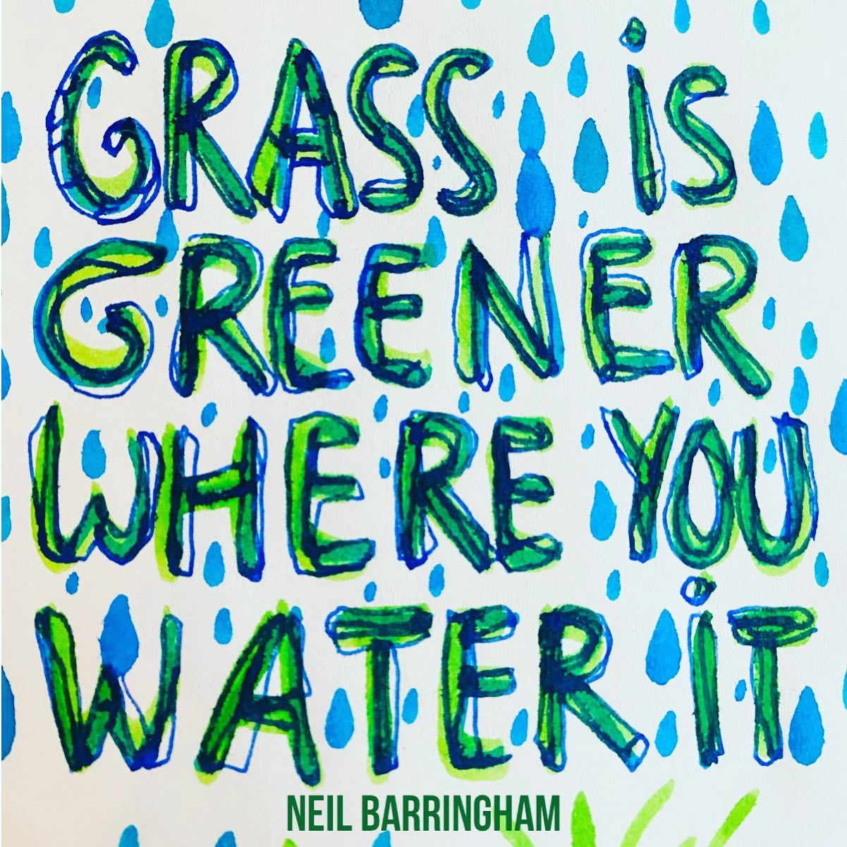What are you holding your attention to? What are you watering and feeding today?